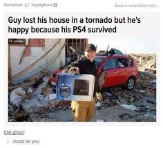 Playstation Meme - he really needs to sort out his priorities playstation know