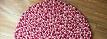 Nepal Felt Ball Rug Home New Reeta Carpets