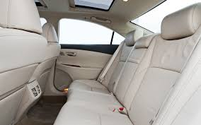 maintenance cost for lexus es350 2011 lexus es 350 rear interior photo 37470839 automotive com