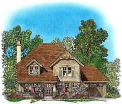 log cabin floor plans with garage unique floor plan hides garage 43040pf architectural designs