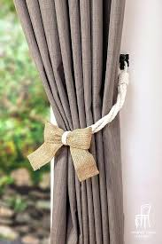 Curtain Rope Tie Backs Tie Back Curtains Rope Tie Curtains With Ribbons Ibbc Club