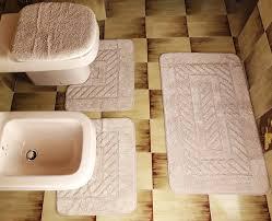 tappeti bagno gabel set di tappeti da bagno gabel bianco e colorati