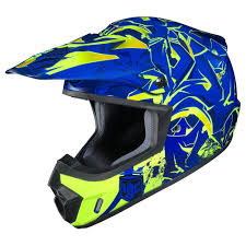 fly motocross helmet hjc cs mx ii graffed mens dirt bike off road racing motocross