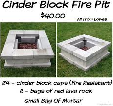 Build A Picnic Table Cost by 57 Inspiring Diy Outdoor Fire Pit Ideas To Make S U0027mores With Your