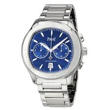 piaget watches prices piaget polo s automatic chronograph blue men s g0a41006