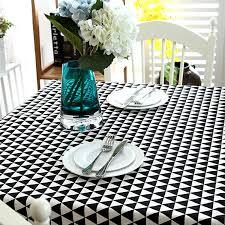 Black Linen Tablecloth Online Get Cheap Black Linen Tablecloth Aliexpress Com Alibaba