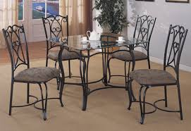 Rod Iron Dining Room Set Fancy Iron Dining Room Chairs With Rod Iron Dining Room Set