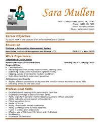 resume sample restaurant cashier templates regarding 19 awesome