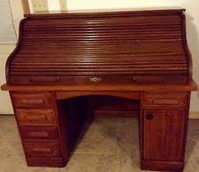 vintage roll top desk value vintage roll top desk ebay