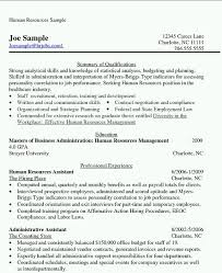 Sample Hr Executive Resume by Mba Hr Resume Format Resume Format
