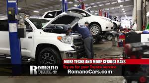 toyota service truck romano toyota wants to be your toyota service center in e
