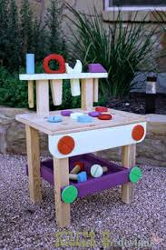 child bench plans how to make a diy kids workbench easy free and woodworking