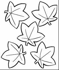 wonderful fall leaves coloring pages for kids with fall color