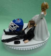 wedding cake ny wedding cake topper new york rangers ny hockey themed w by wedset