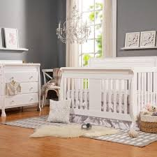 Cribs That Convert To Toddler Bed Davinci Porter 4 In 1 Convertible Crib With Toddler Bed Conversion