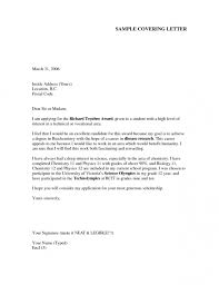 resume example cover letter examples ideas senior level in for a