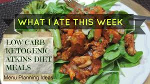 low carb ketogenic diet meals weight loss update youtube