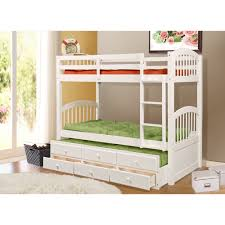 Bunk Bed With Trundle And Drawers Cameron Bunk Bed With Trundle And Drawers Free