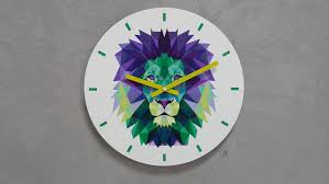 large wall clock wall clock gift wall decor modern clock