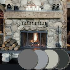 stone fireplace palette farrow u0026 ball down pipe lamp room gray