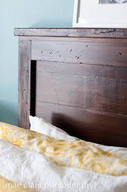 encouraging headboard in weared wood headboard reclaimed wood bed