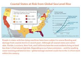 Florida Sea Level Rise Map by The Human Toll Of Sea Level Rise What The 2014 National Climate