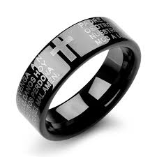 black wedding rings meaning 2017tangling classic bible cross ring tungsten ring reduced wj243