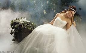 disney and alfred angelo launch princess inspired wedding dress