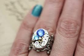 grandmothers ring mothers ring steunk ring custom birthstone ring ring