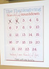 thanksgiving count calendar 2 free printables tip junkie