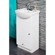 shop style selections euro white integral single sink bathroom