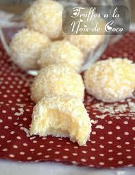 cuisine de coco truffes a la noix de coco amour de cuisine