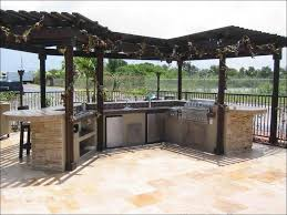 L Shaped Outdoor Kitchen by Kitchen Outdoor Grill Cabinet L Shaped Outdoor Kitchen Built In