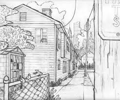 one point perspective drawing one point perspective lessons