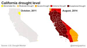 california map drought these 6 seconds show just how big of a problem drought has become