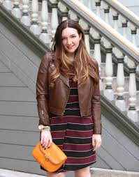brown motorcycle jacket the motorcycle jacket just add glam