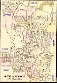 Pennsylvania County Maps by Lackawanna County Pa Maps