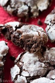 double chocolate crinkle cookies sallys baking addiction