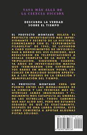 amazon com el proyecto montauk spanish edition 9781937859176