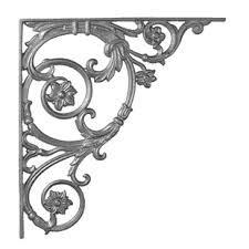 vintage iron corbels cast iron shelf brackets at your wrought