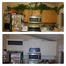 How To Update Kitchen Cabinets by Remodelaholic Diy Refinished And Painted Cabinet Reviews