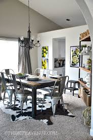 ideas for dining room walls dining room decor industrial design the 36th avenue
