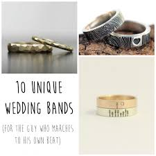 unique wedding bands 10 unique wedding bands for the groom