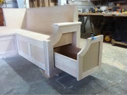 Kitchen Tables With Storage Kitchen Corner Bench Seating With Storage Kenangorgun Com