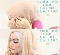 tutorial hijab noura tutorial hijab untuk til feminin ala si cantik laili personil