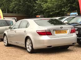 lexus ls for sale lexus ls saloon 600h l 5 0 4d cvt auto rear relaxation pack for