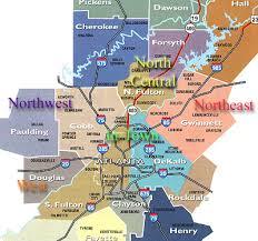 map of atlanta metro area map of cities road map metro atlanta regional map