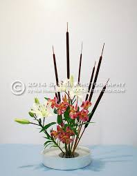 Japanese Flower Artwork - ikebana the art of japanese flower arranging sansai studio