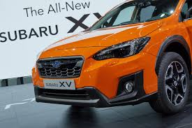 subaru crosstrek white 2018 2018 subaru xv is here with familiar looks new platform