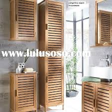Bamboo Bathroom Furniture Bamboo Bathroom Wall Cabinet Mirrors Oak Space Saver Ameriwood